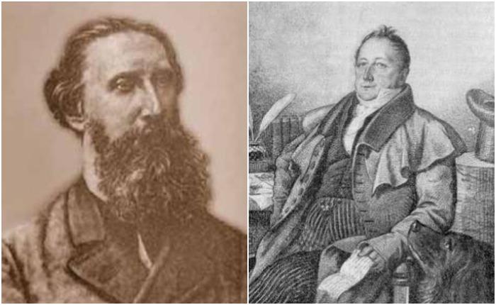 Александр Иванович Галич (Говоров), учитель словесности, и Александр Петрович Куницын, преподававший право