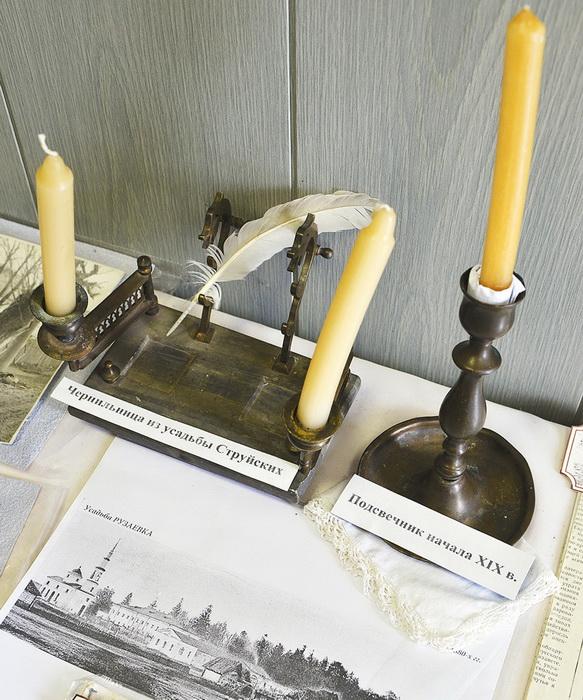 В музее в Рузаевке хранится чернильный прибор, возможно, принадлежавший Николаю Струйскому