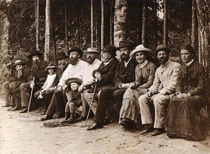 Представители абрамцевского кружка