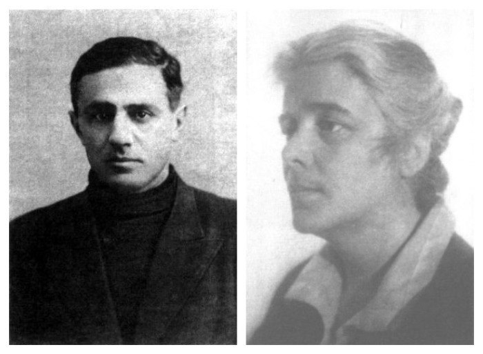 С.Д. Гуревич и Е.Я. Эфрон