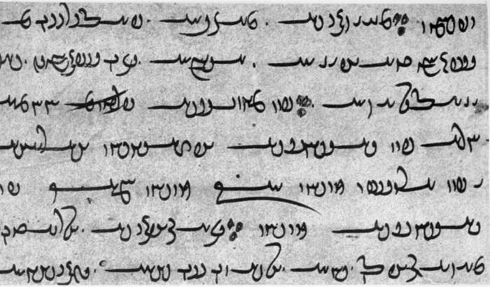 Для записи священных текстов Авесты зороастрийцы разработали отдельный язык. Источник: wikipedia.org
