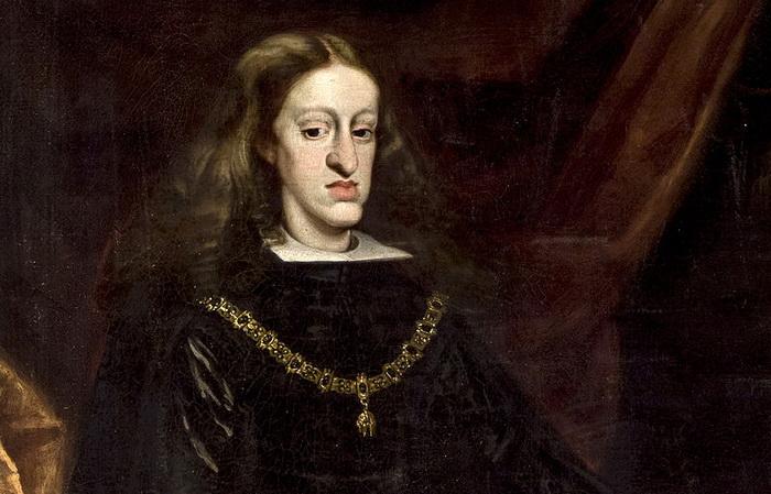 Карл II Испанский был болен сразу несколькими тяжелыми болезнями, отличался уродствами и был неспособен произвести на свет потомство. Источник: wikipedia.org