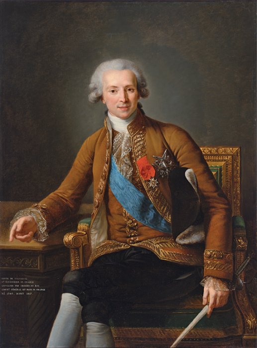 Виже-Лебрен. Портрет графа де Водрей