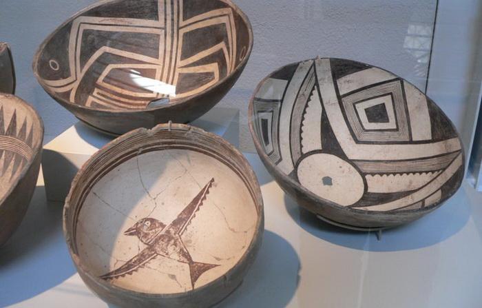 Чаши культуры Мимбрес (Могольон). Источник: wikipedia.org