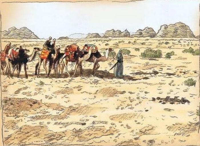 Путешествия и сушей, и морем были в те времена одинаково опасны. Источник: pinterest.com