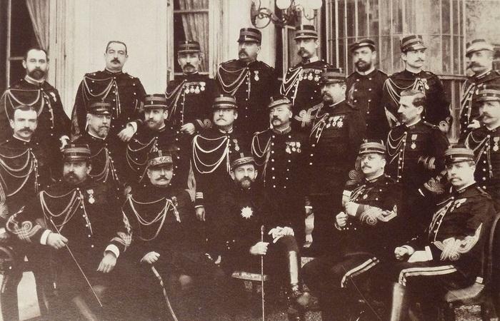 Генерал Буланже в Генштабе (1886 год)