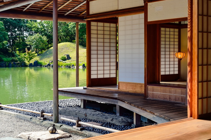 Японский дом и японский сад - части единого целого