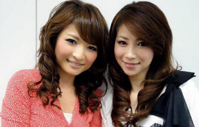 Масако Мизутани (справа) и ее старшая дочь. Источник: pinterest.com