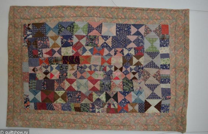 Лоскутное одеяло. Фото: quiltshow.ru