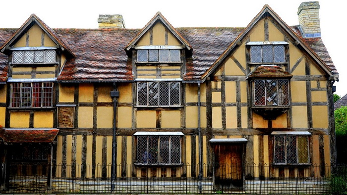 Дом Шекспира в Стратфорде