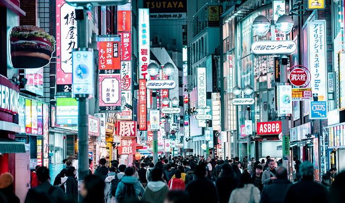 Население Токио сейчас превышает 14 миллионов человек. Источник: pixabay.com