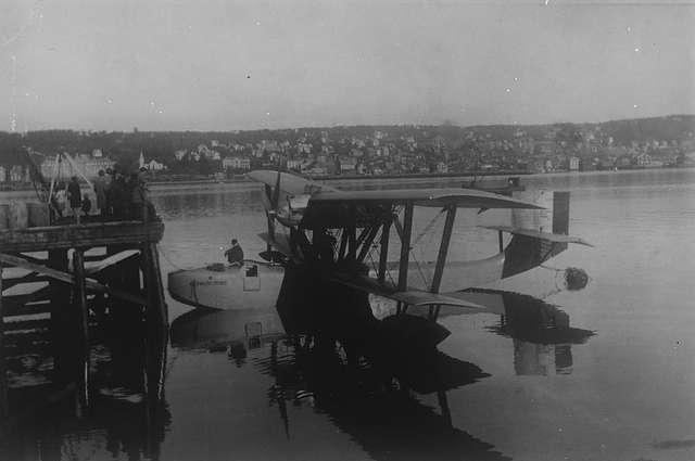Гидроплан «Латан-47», на котором Амундсен полетел спасать Нобиле