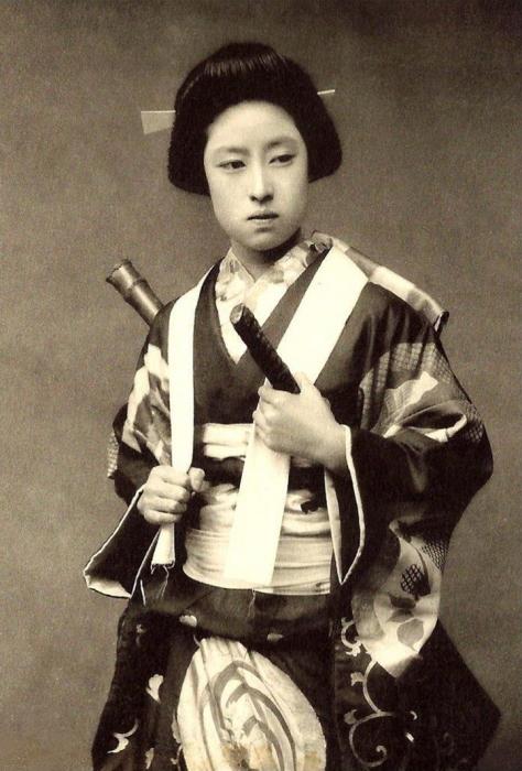 Самураями могли быть не только мужчины