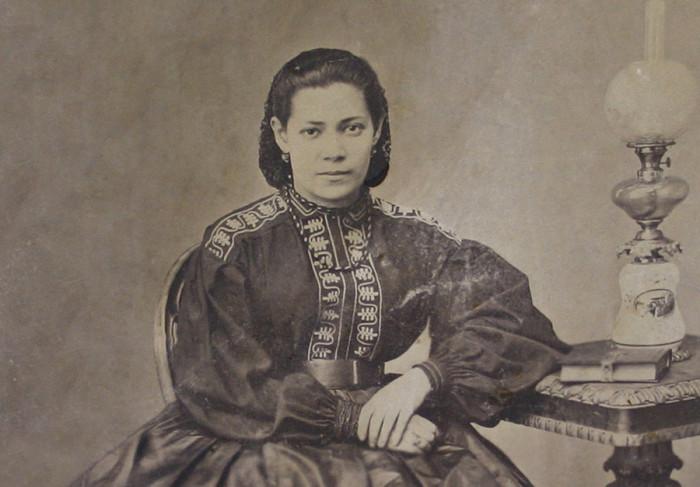 Жена Чернышевского Ольга Сократовна