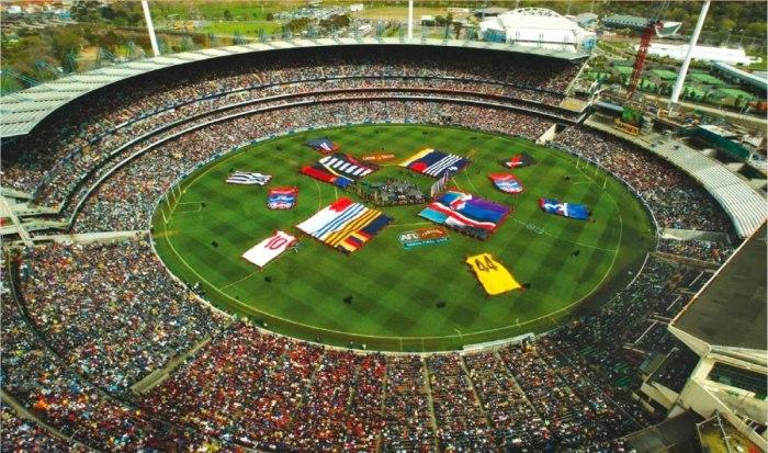 А у австралийцев вот такое футбольное поле