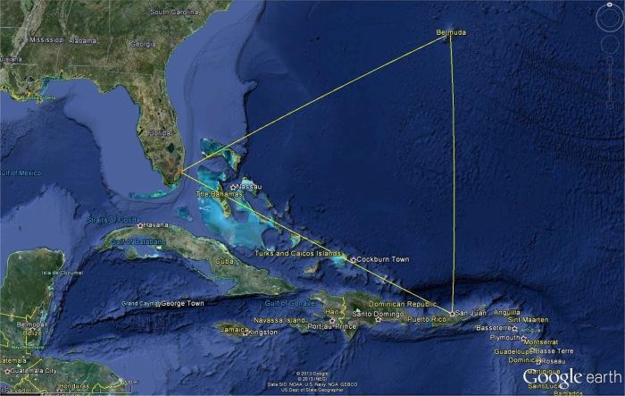 Бермудский треугольник обвиняют в исчезновении множества людей, и случай с «Марией Целестой» не исключение