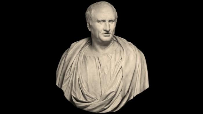 Бюст отца Туллии, великого оратора Цицерона