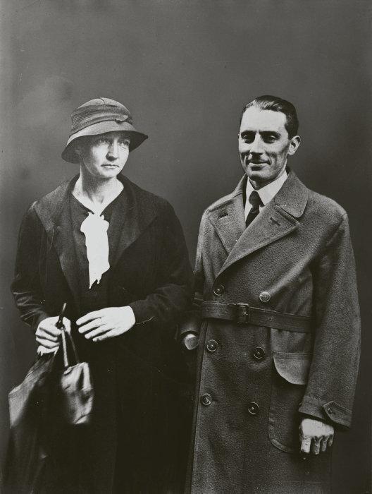 Старшая дочь Мари и Пьера Ирен с мужем Фредериком Жолио-Кюри