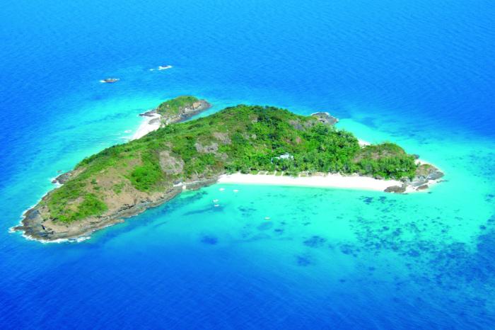 Остров Мадагаскар с высоты птичьего полета. Возможно, это все, что осталось от затонувшего материка Лемурии.