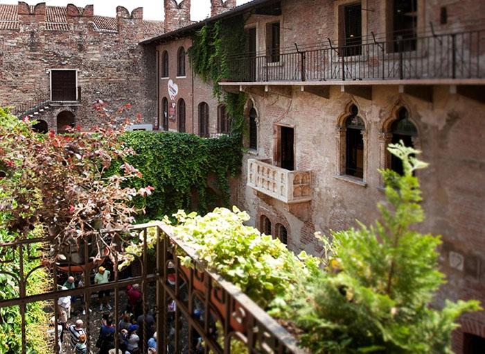 Дом-музей Джульетты в Вероне