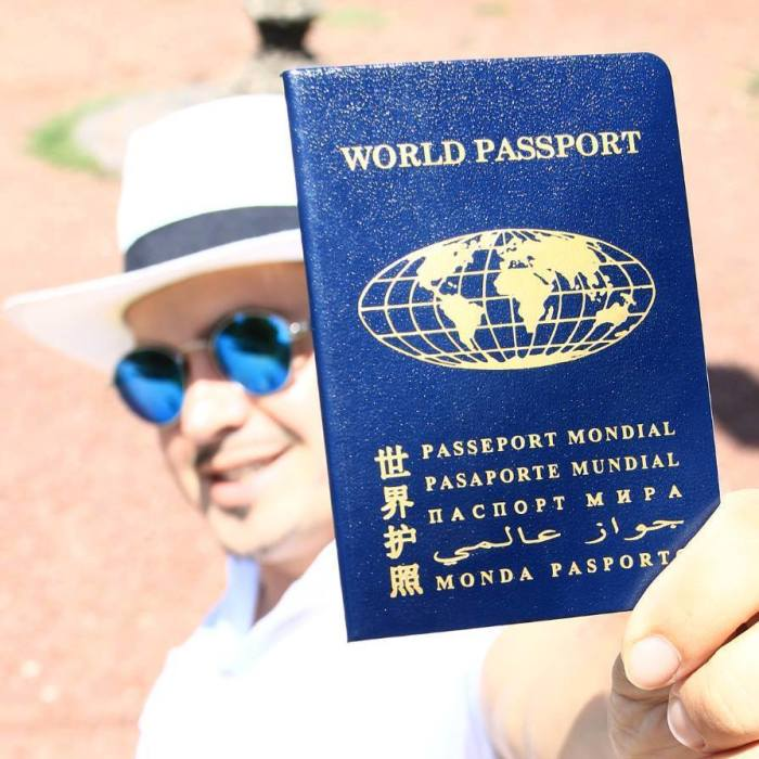 Паспорт для настоящего космополита