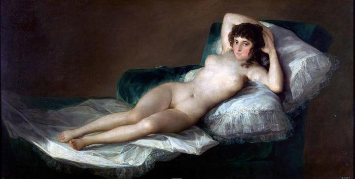 Франсиско Гойя. Маха обнажённая. Ок. 1797—1800