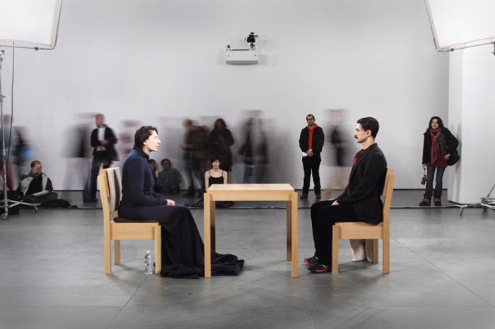 Перформанс «Художник присутствует», МоМА, 2010