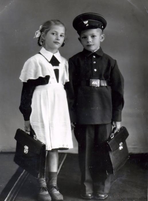 Школьная форма 1950-х гг.