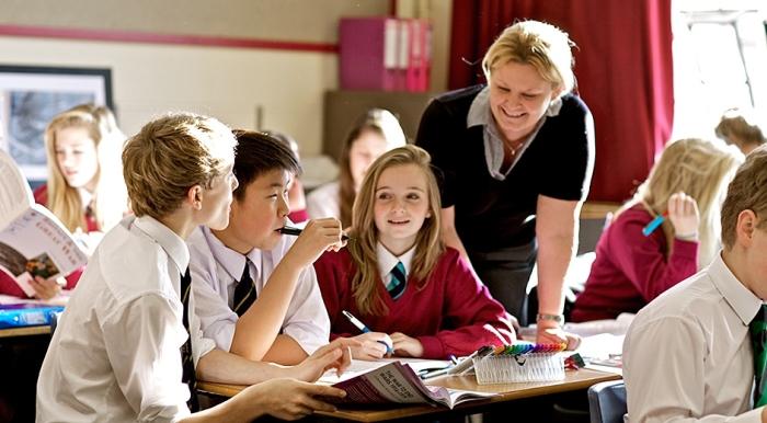 В Англии уделяется большое внимание совместной работе школьников
