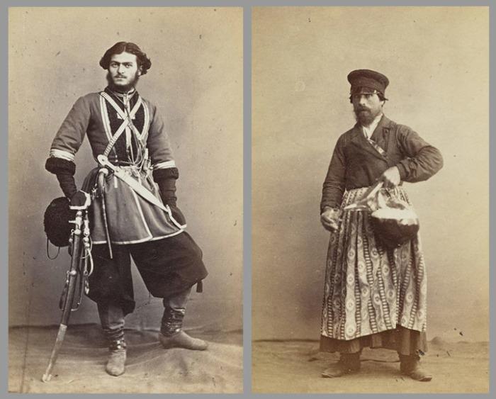 Кавказский казак / Торговец квасом