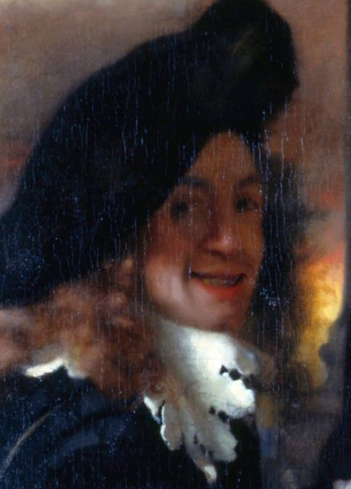 Мужчина на картине «Сводня» - предполагаемый автопортрет 24-летнего Яна Вермеера
