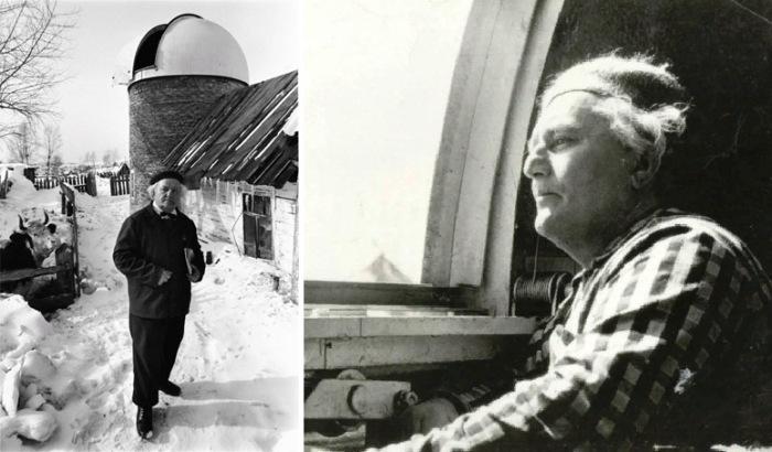 А. Дьяков и его небольшая обсерватория