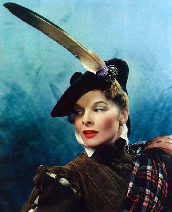 Кэтрин Хёпберн в роли Марии Шотландской, 1936 год