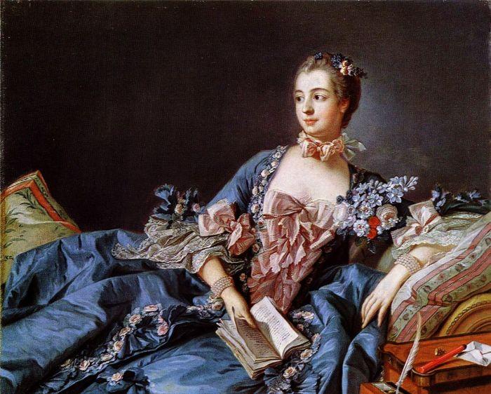 Мадам де Помпадур, портрет кисти Франсуа Буше