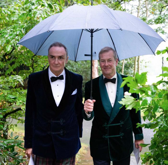Свадьба лорда Ивара Маунтбаттен и Джеймса Койла, 22 сентября 2018 года