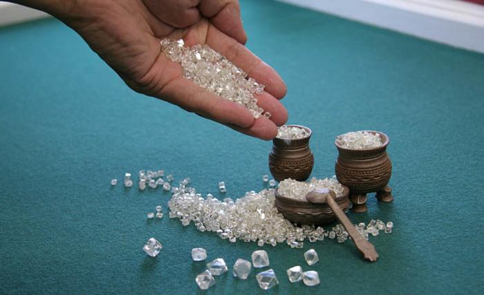 Якутские алмазы – богатство нашей страны