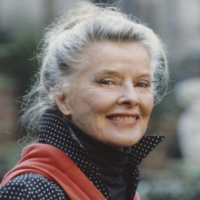 Даже в пожилом возрасте Кэтрин Хёпберн не утратила своего очарования
