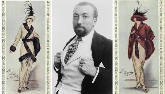 Поль Пуаре и его модные модели