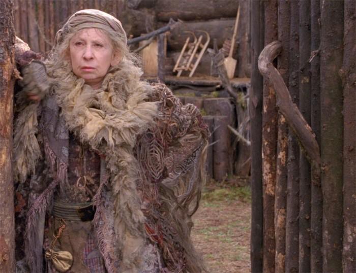 Лия Ахиджакова в роли Бабы Яги в к/ф «Книга Мастеров»