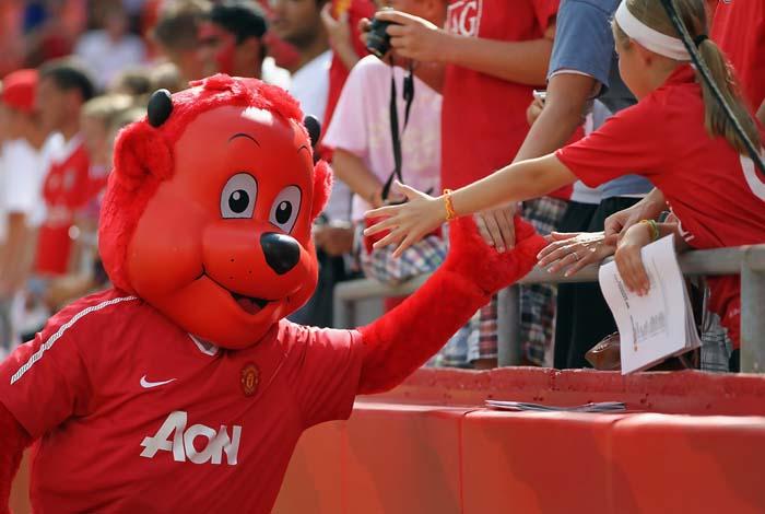 Веселый чертенок Красный Фред – символ «Манчестер Юнайтед»
