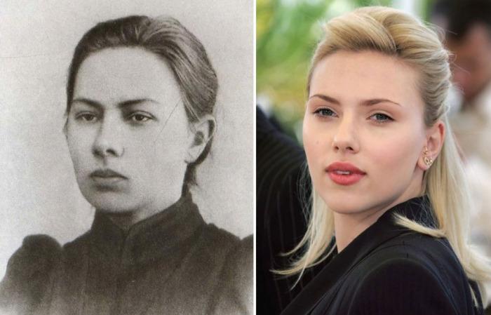 Скарлетт Йоханссон и Надежда Крупская