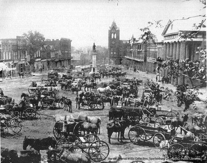 Южная Каролина на фотографии XIX века