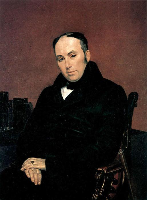 Карл Брюллов, портрет В. А. Жуковского, 1837 год