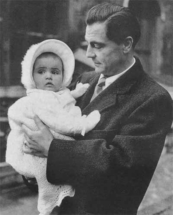 Барон Фальц-Фейн с дочерью Людмилой
