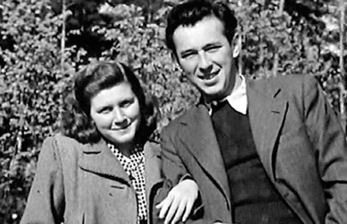 Светлана со своим первым мужем Григорием Морозовым