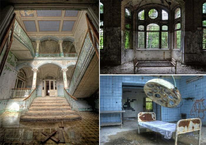 Руины Белиц-Хайльштеттен – самый популярный объект для любителей заброшенных мест