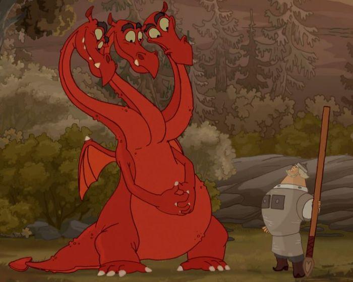 Змей Горыныч сегодня, вместе с готическими драконами, один из самых любимых и популярных сказочных героев