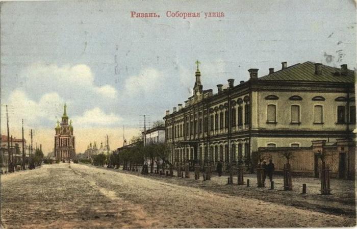 Рязань, Соборная улица, XIX век