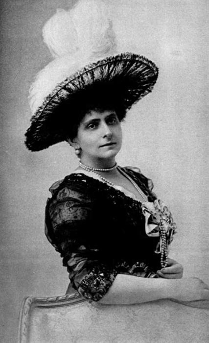 Княжна Екатерина Радзивилл (фото ок 1890-х)