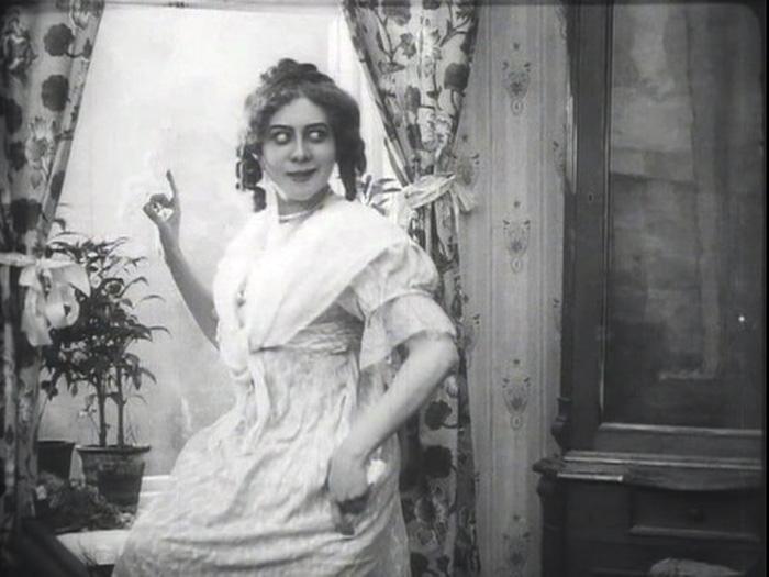 Актриса немого кино Софья Гославская